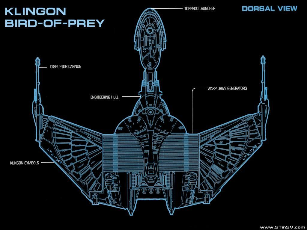 Schematic Klingon Bird Of Prey Star Trek Pinterest Sci Fi Wiring Diagram