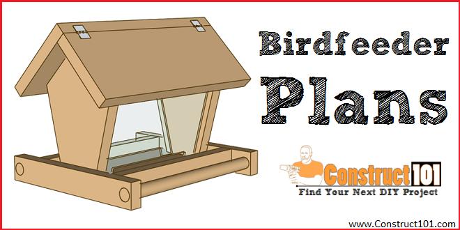 Build a Bird Feeder Free Plans Construct101