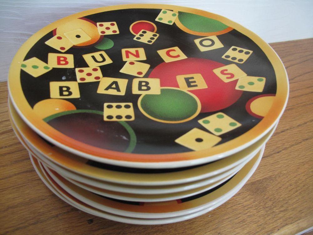 Certified international set of 8 bunco 8 14 bread salad
