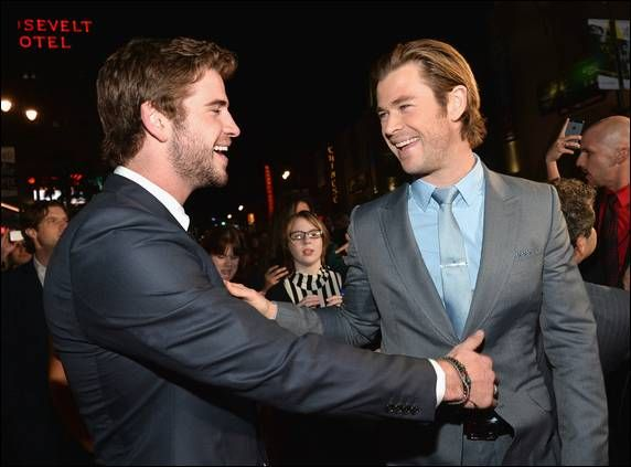 thor 2 hollywood prem | ... Thor in Marvel's new movie Thor: The Dark World , at the premiere at