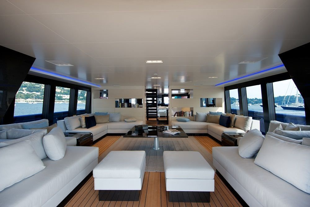 Yacht Design Jobs steve jobs mega yacht venus travel cruise ship boat (6) | interior
