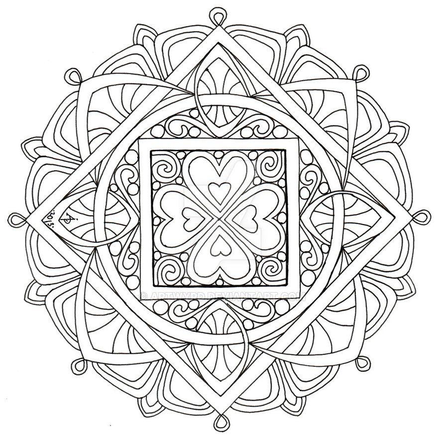 Mandala 2 July 2013 By Artwyrd Artwyrd Deviantart