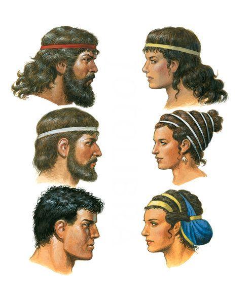 Cómo conseguir un peinados antigua grecia Imagen De Cortes De Pelo Tendencias - 1198431-greek-hairstyles.jpeg (497×600)   Grecia antigua ...