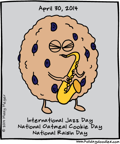Holiday Doodles 2014 April 30 Doodles Jazz Holiday