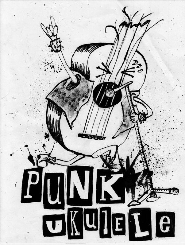 ukulele punk Ukulele art, Ukulele songs, Ukulele
