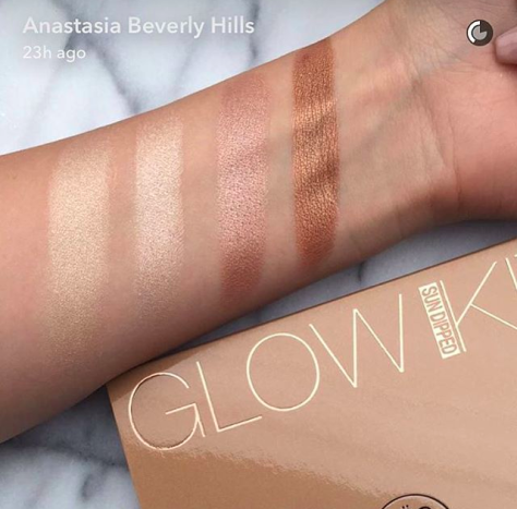 Image result for anastasia beverly hills glow kit sundipped