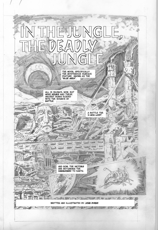 Byrne Robotics X Men Elsewhen Free Fan Fic 01 X Men Comic Artist Vintage World Maps