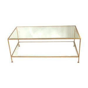 Want It Coffee Table Rectangular Coffee Table Coffee Tables Uk Gold rectangle coffee table