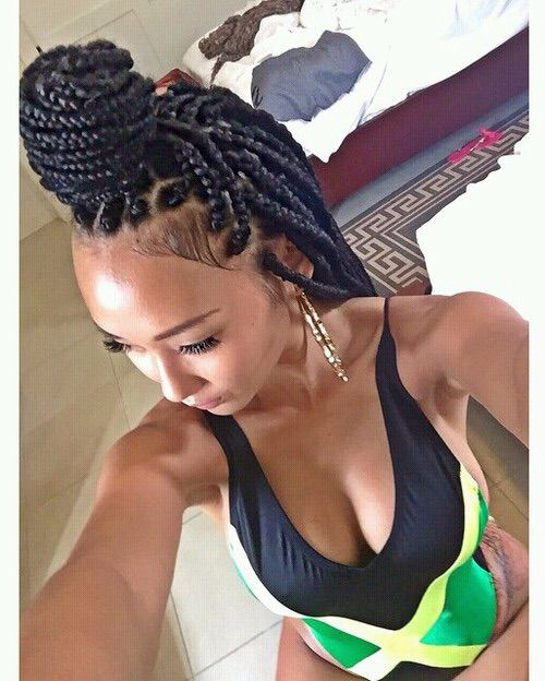 Jamaican Twists Hairstyles For Girls: Box Braids Hairstyles For Black Women, Braids