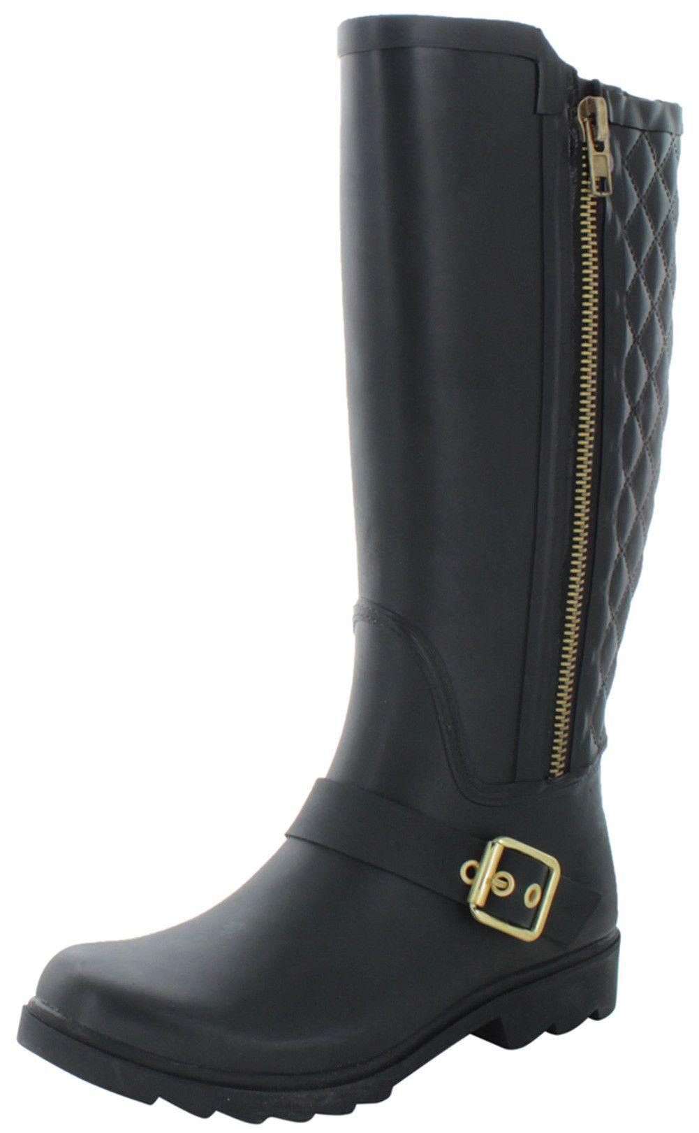 c8671f3445d Steve Madden Northpol Women s Harness Tall Rain Boots