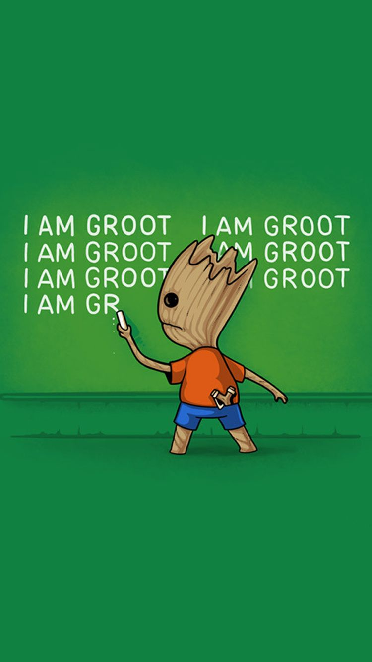 I Am Groot Iphone Wallpaper I Am Groot Guardians Of The