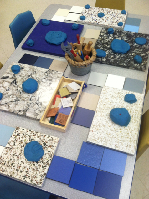 Open-ended materials tend to promote creativity and imagination.