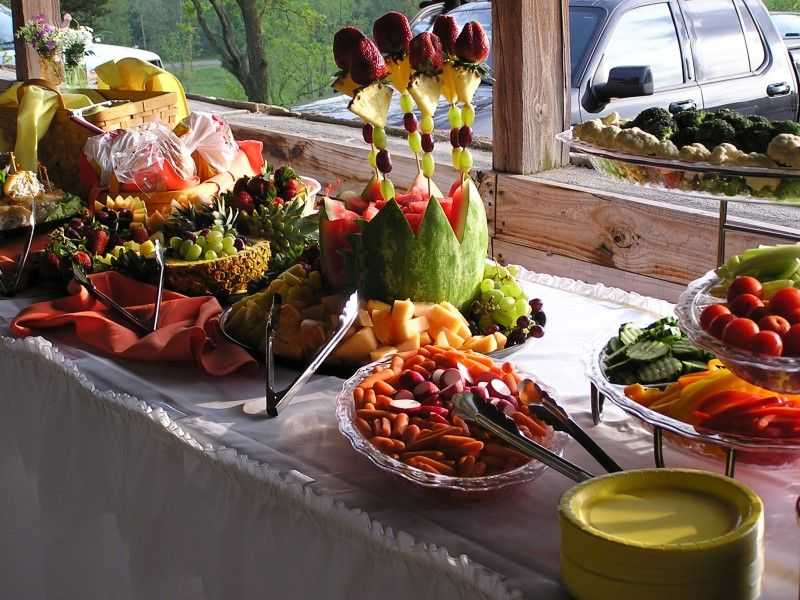 Receptions Food Displays And Prime Time On Pinterest: Outside College Graduation