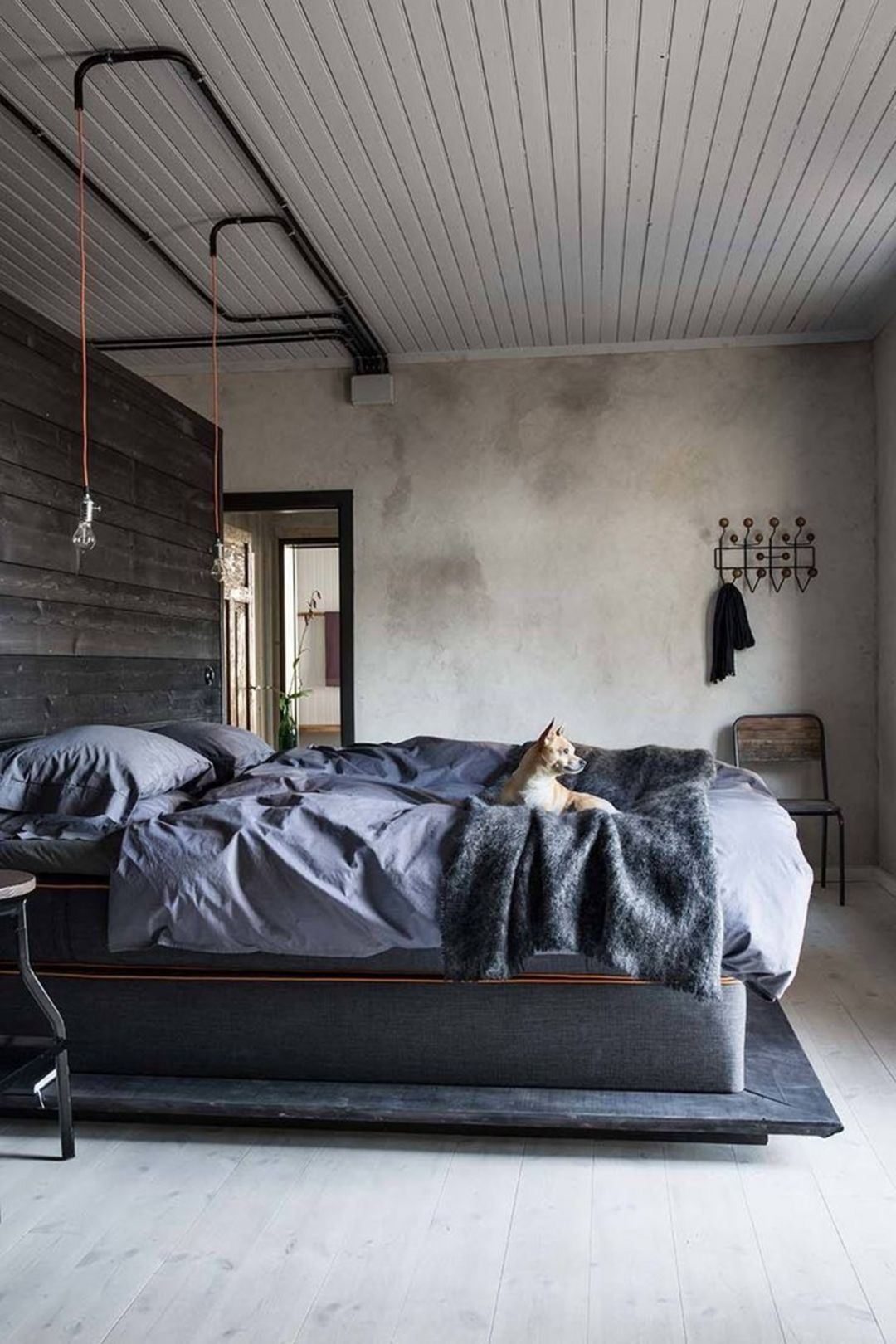 15 Awesome Industrial Style Bedroom Design Ideas Industrial Bedroom Design Industrial Style Bedroom Industrial Decor Bedroom