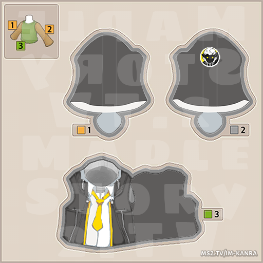 All Released MapleStory2 Costume UGC Templates   Texture in