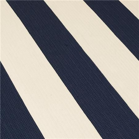Chic Indoor/ Outdoor Rugs: 6 Colors Available: Navy U0026 Cream $358.00 For The