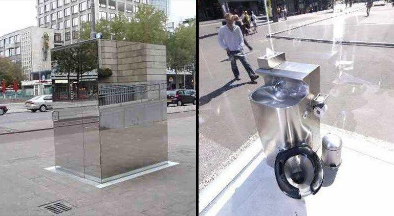 Artist Monica Bonvicini S Don T Miss A Sec Is A Public Toilet