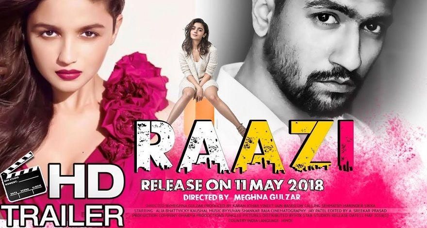 Raazi 2018 Full Hindi Movie Online Online In 2019 Hindi Movies