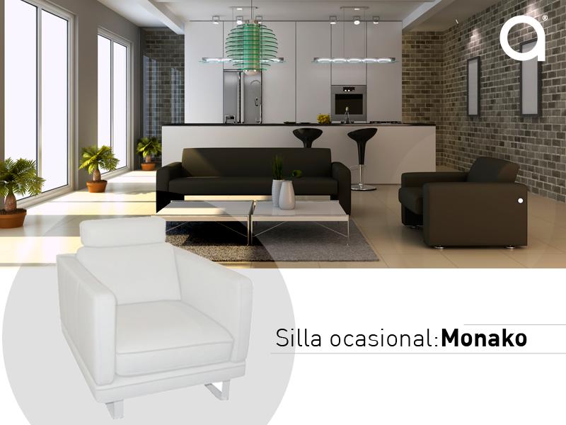 Muebles ideales para espacios reduccidos, como una silla ocasional ...