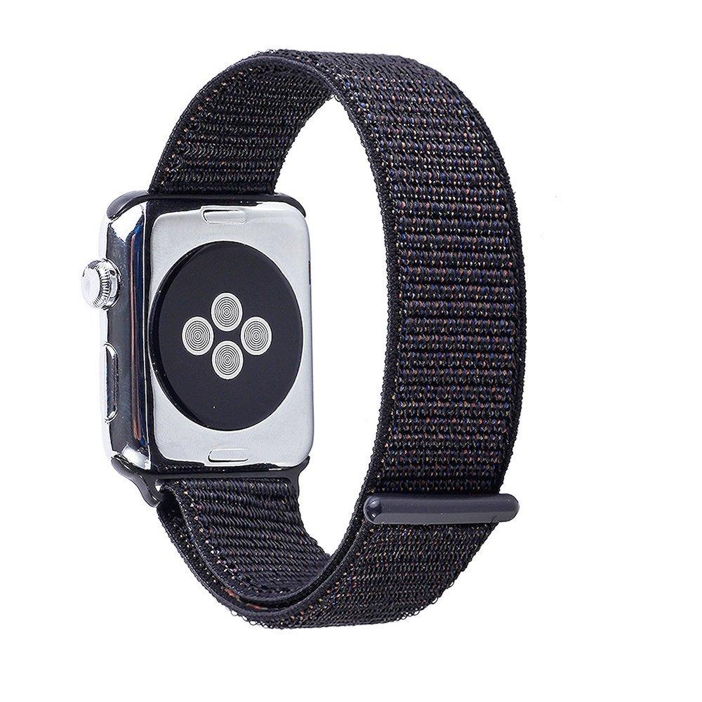 Apple Watch Sport Loop Band (Black and Purple) Apple