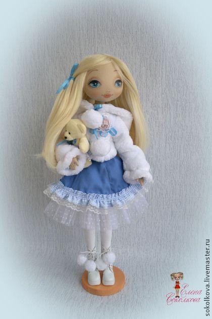 Коллекционные куклы ручной работы. Ярмарка Мастеров - ручная работа Снежная принцесса. Handmade.
