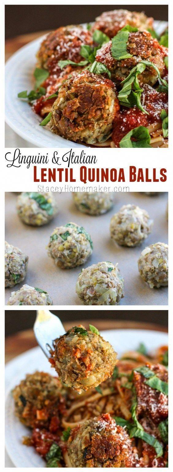 Vegan Italian Lentil MeatBalls - Food Blogger