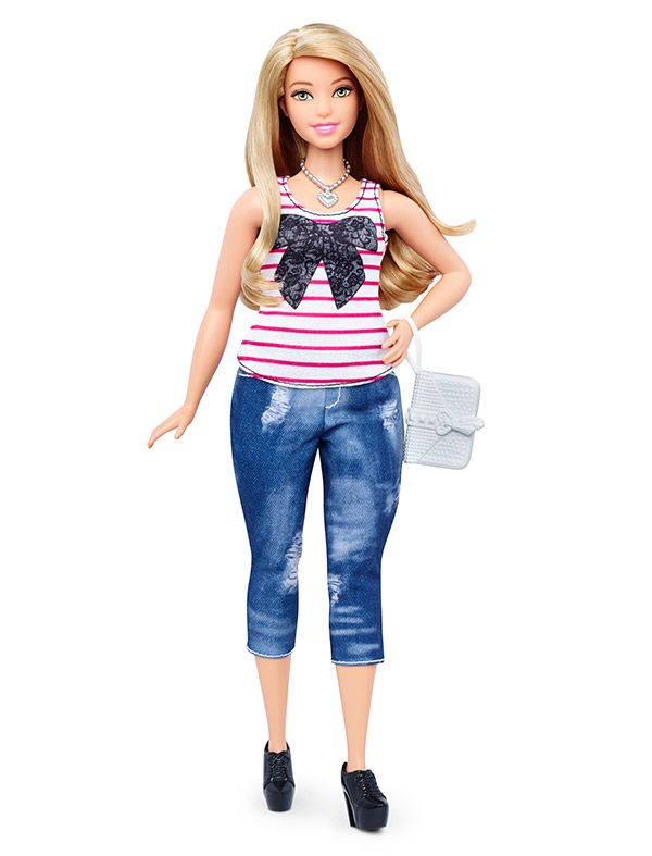 Mattel Presenta Tres Nuevos Tipos De Muneca Barbie Con Imagenes