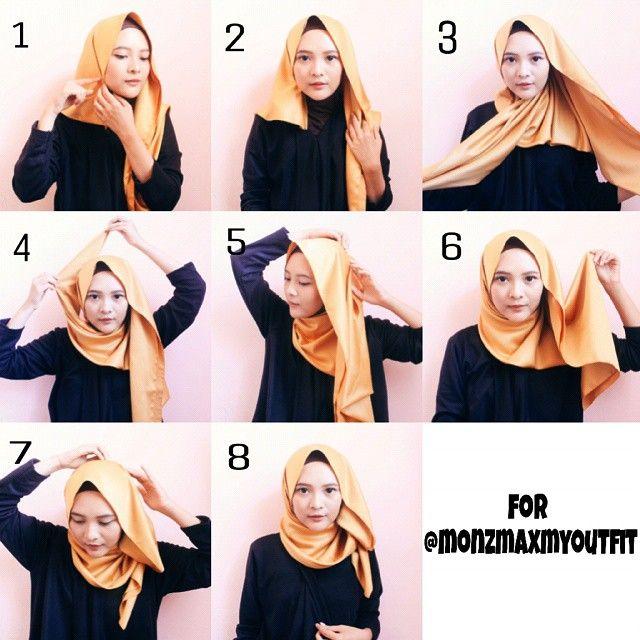 280 Tutorial Hijabs Ideas Hijabista Hijab Fashion Hijab Tutorial