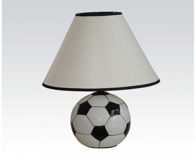 Acme All Star Ceramic Soccer Ball Table Lamp 03875