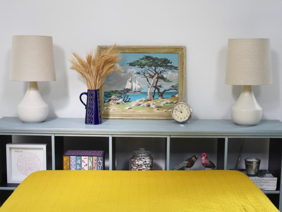 You Can Use Bookshelves Artwork Pillows Old Doors Just About