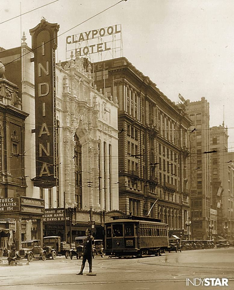 On This Day In 1927 The Indiana Theatre Opened As An Elaborate Movie Palace With An Original Seati Indianapolis Indiana Lafayette Indiana Terre Haute Indiana