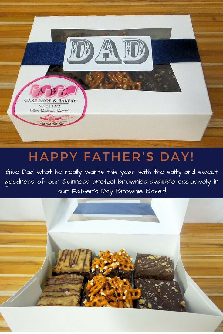 Fathers day has never been so sweet and salty get