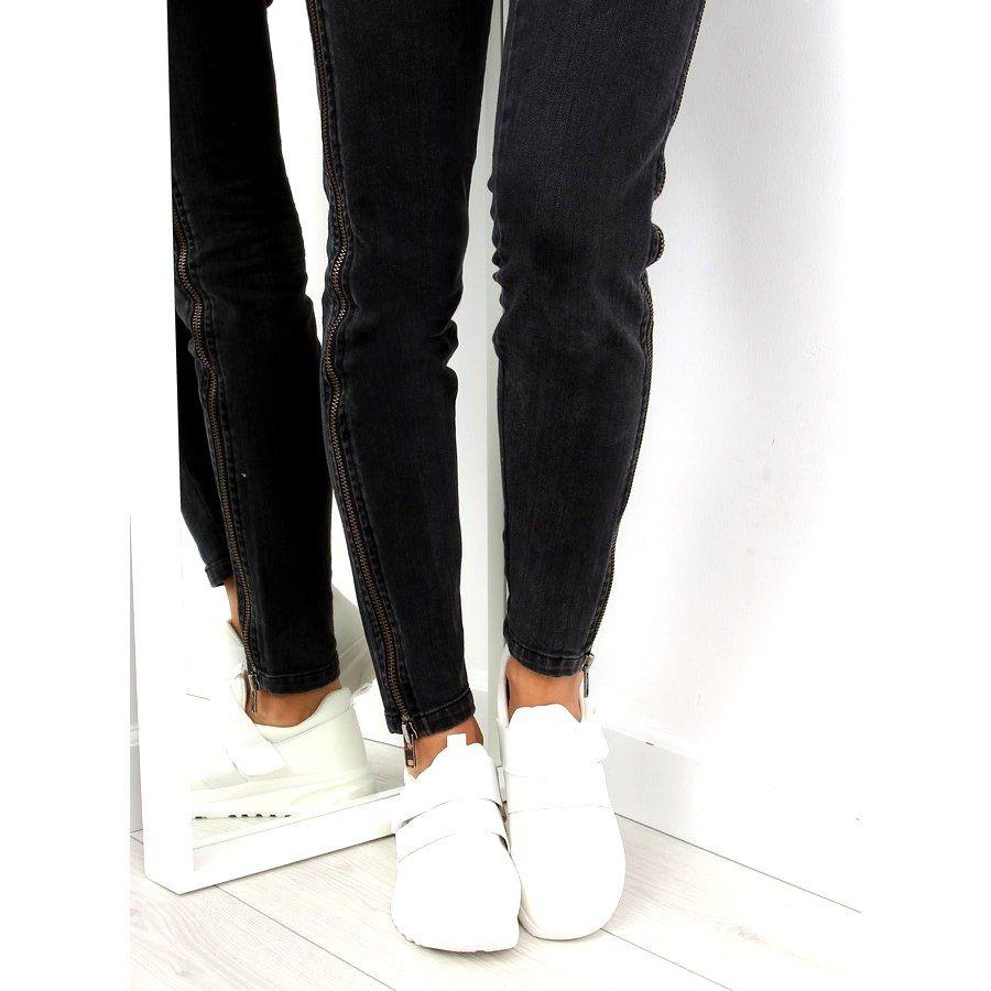 Obuwie Sportowe Damskie Biale Nb151p White Skinny Jeans Black Jeans Fashion