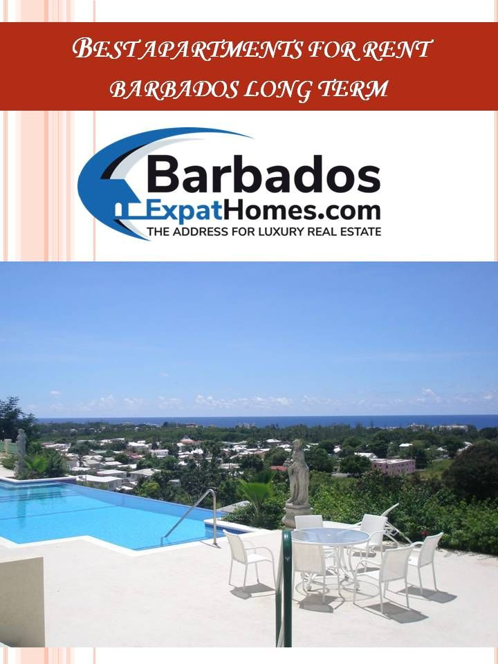 If You Are An Apartment Seeker Looking At Barbados Contact Expat Homes They