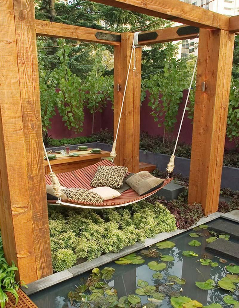Backyard Hammock Ideas Of Days Ago We Offered You 24 Cozy Porch Swings And Today Gathered That Will Certainly Add Relaxing