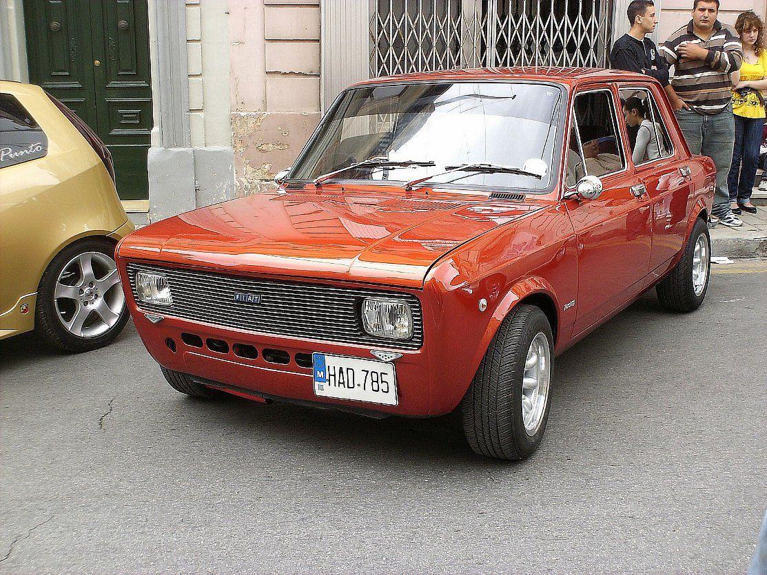 Modified Fiat 128 Fiat 128 Fiat Classic Cars