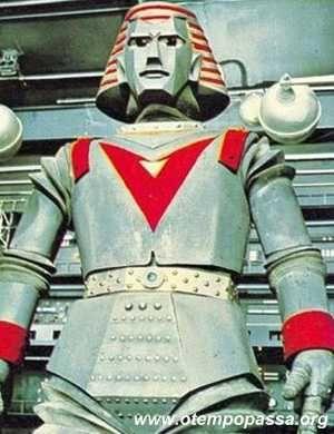 Robô Gigante, seriado japonês dos anos 60.  Robô Gigante  passou, então, a obedecer os comandos do menino e os dois, unindo-se ao grupo de defesa Unicórnio, tentam evitar que a
