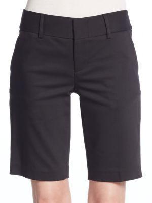 ALICE AND OLIVIA Bermuda Shorts. #aliceandolivia #cloth #shorts