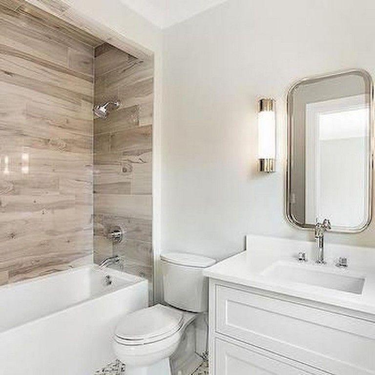 83 Top Farmhouse Tile Shower Ideas Remode Wood Tile Bathroom Wood Look Tile Bathroom Bathtub Tile