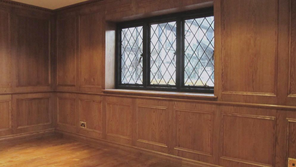Wall Panelling Wood Wall Panels Painted Oak Wall Panelling Study Makeover Paneling Makeover Wall Paneling Oak Panels