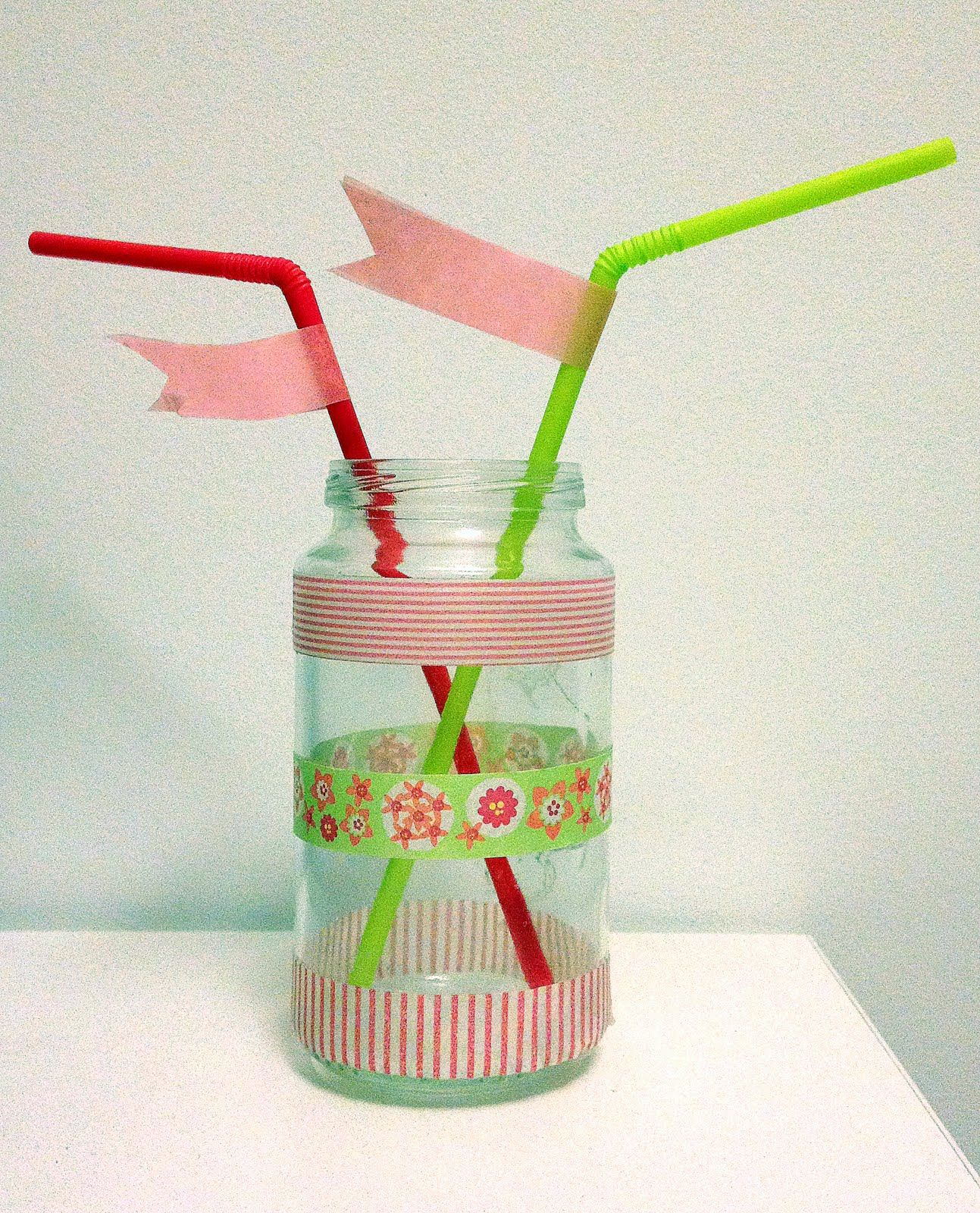 Ideas Para Decorar Con Washi Tape Bote De Potito Decorado Con Washi Tape Party Ideas