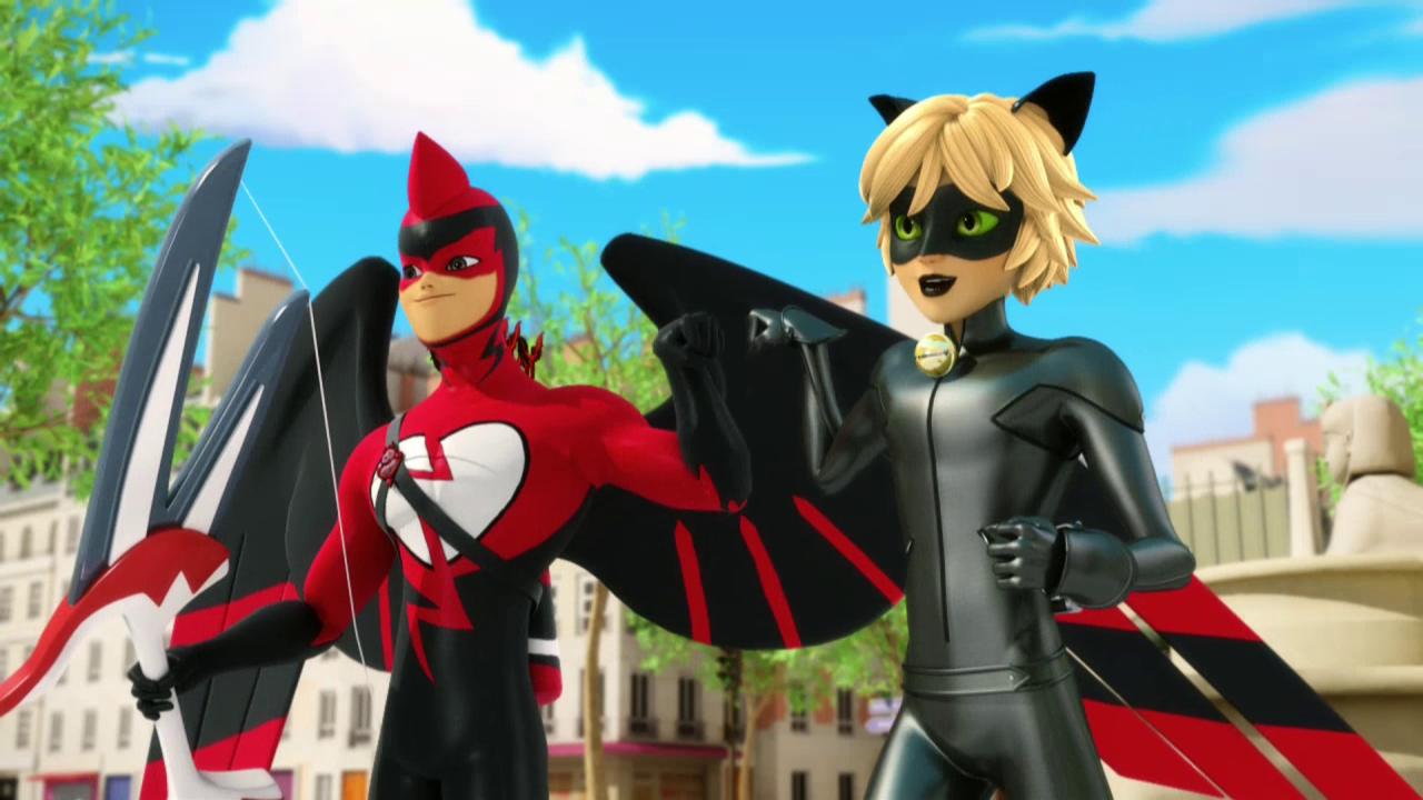 Cat Noir & Dark Cupid (Dark Cupid Episode 10 Season 1)