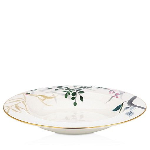 Kate Spade New York Birch Way Rimmed Pasta Bowl Pasta Bowls Kate Spade Dinnerware Dinnerware