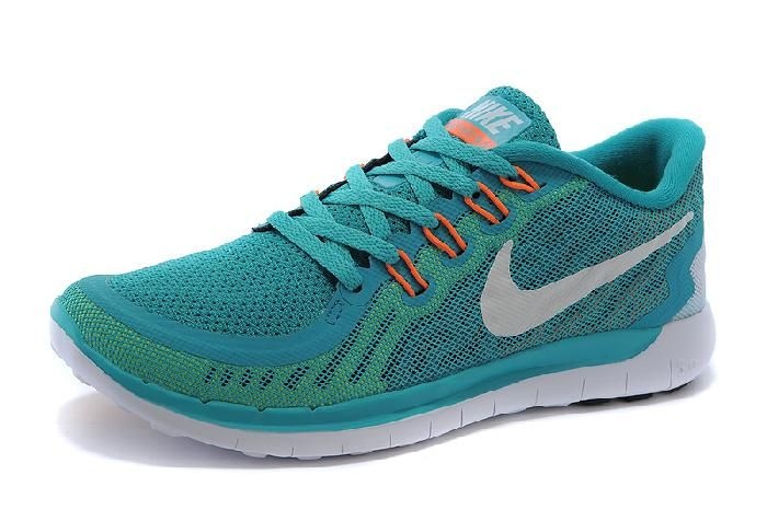 Womens Green / White 2015 Nike Free Womens For Sale Online