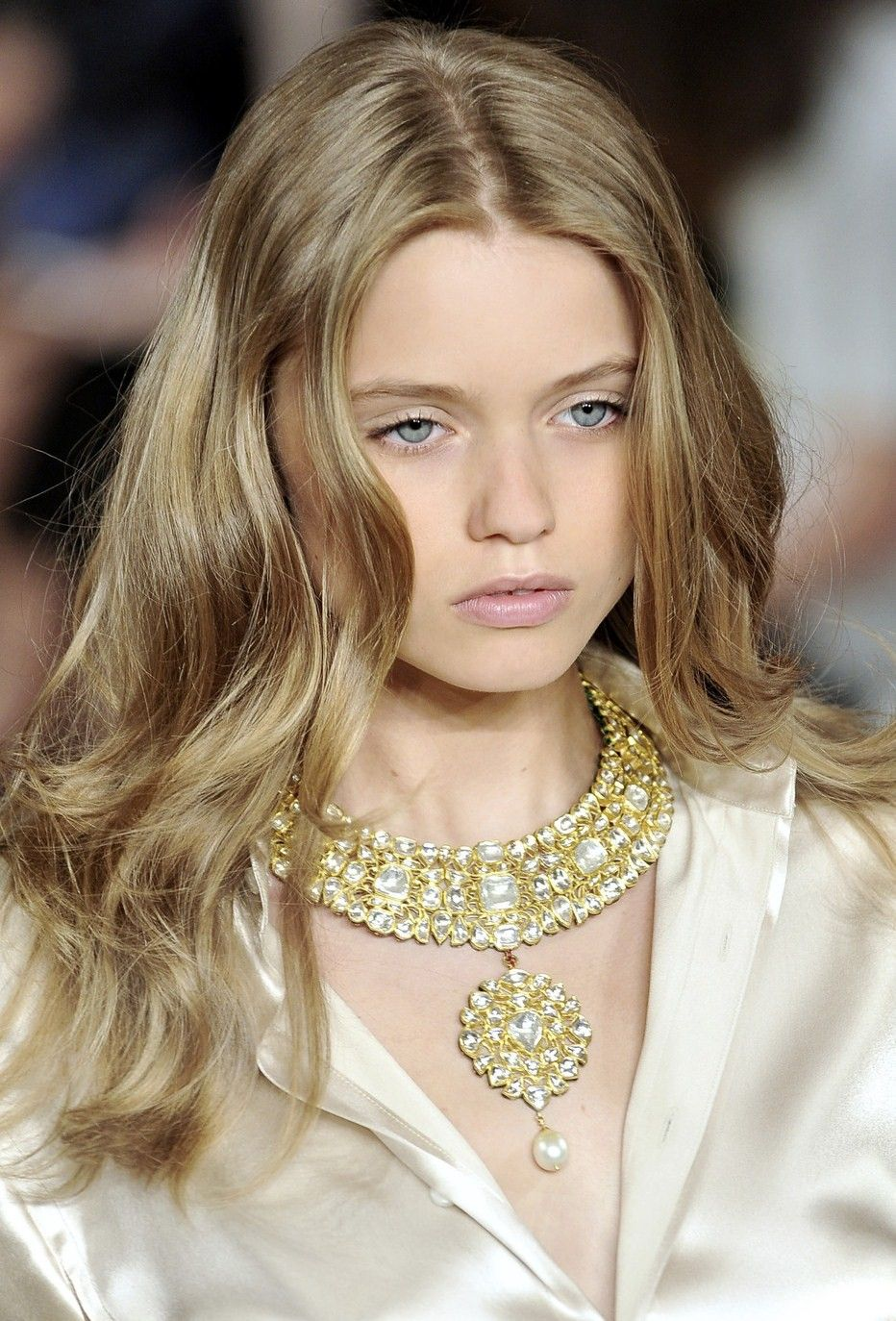 Necklace For Arianne Ralph Lauren Runway Hair Ralph Lauren
