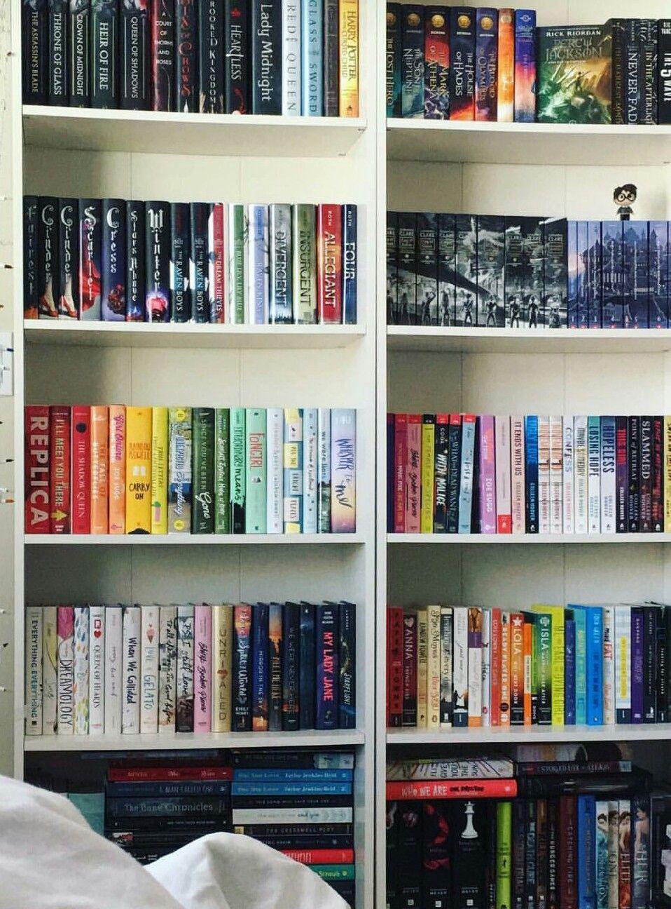 #shelfie by katytastic   Book nooks, Book organization