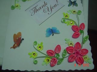 Art of quilling, Greeting cards, Paper craft, Thank you cards