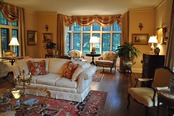 English Country Cottage Decor European French Living Room Ideas