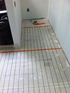 There are two basic types of heated flooring electric - How do heated bathroom floors work ...