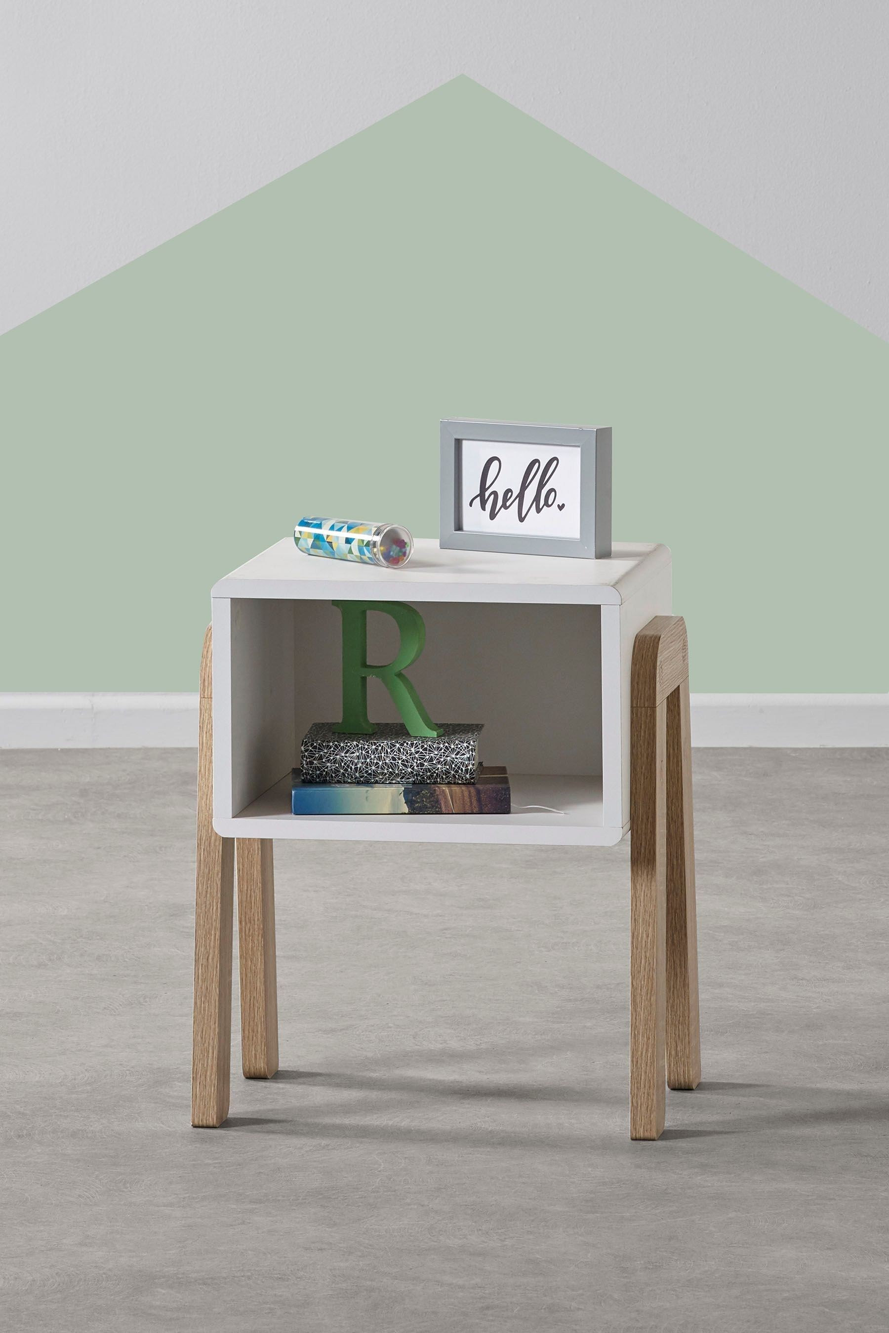 Next Compton Bedside Table - White | Childrens bedroom ...